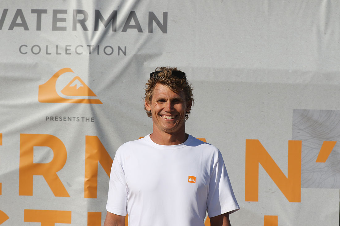 Mo Freitas Wins First Annual Quiksilver Waterman's Festival 7