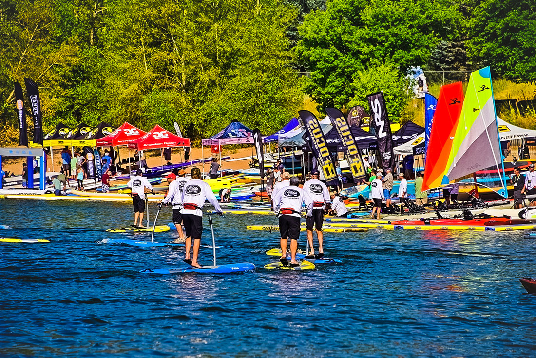 The Hobie Mirage Eclipse Parade