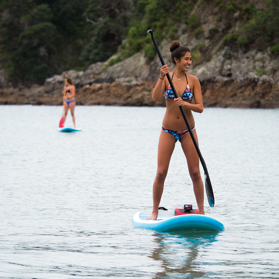With STEREOACTIVE paddlers, kayakers and beachgoers can personalize their time with that quality FUSION sound.