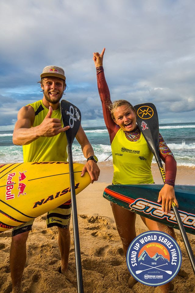 Fiona Wylde secures her first World Title with wins in the long distance, sprints and overall on Maui at the World Series Finals