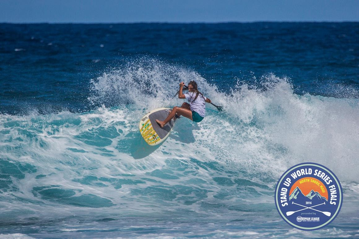 Skylar Lickle makes a statement in the Sup Surfing world with an outstanding performance in the U16 Na Kama Kai Challenge