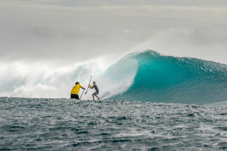 Cloudbreak Awakens for ISA's SUP Surfing Finals Day #6