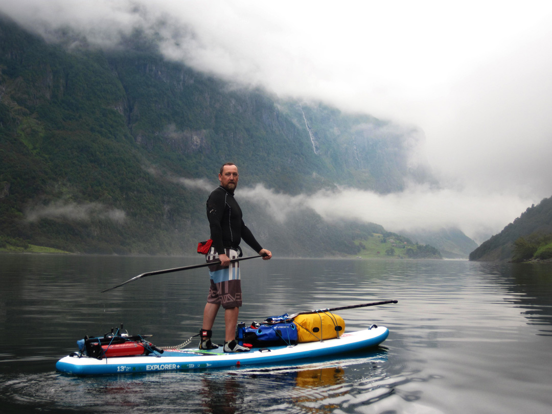 Titus Kodzoman-SUPNorway, Sognefjord paddle excursion
