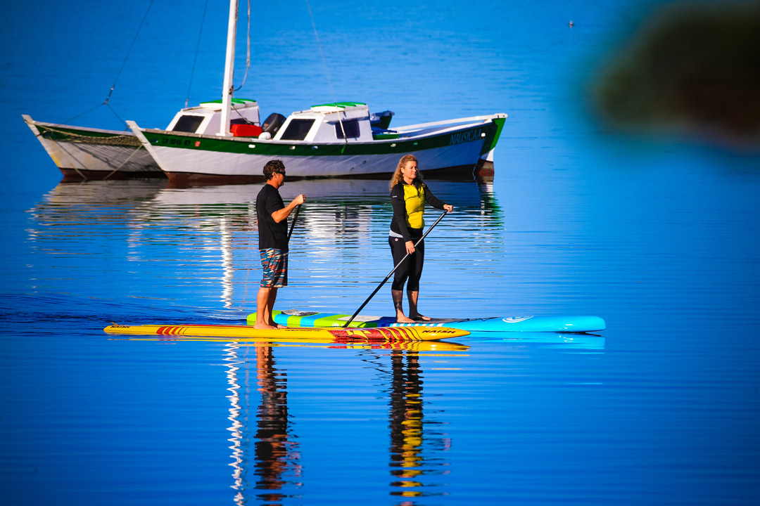 The Paddlelboard Co Ken Twist Nikki Gregg partnership Morro Bay photo Glenn Dubock