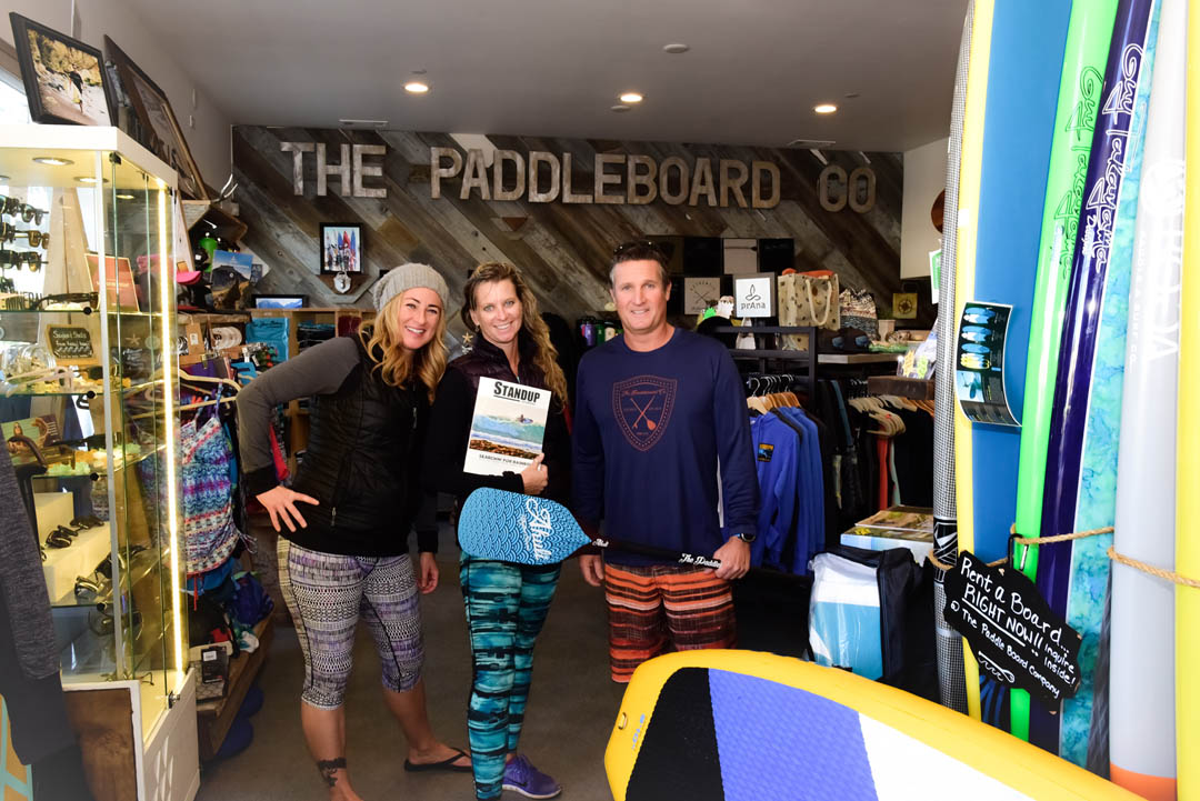 Nikki Gregg Morro Bay The PaddleBoard Co Glenn Dubock
