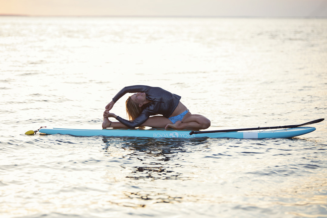 Jessica Bellofatto sup yoga BOGA
