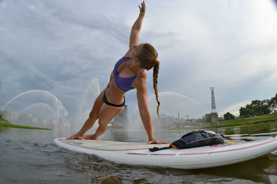 Alex Keller sup yoga dayton ohio bic sup