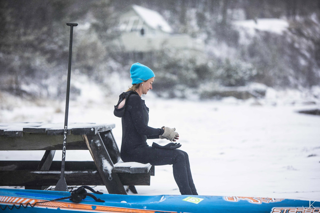Cold Weather Paddling tips