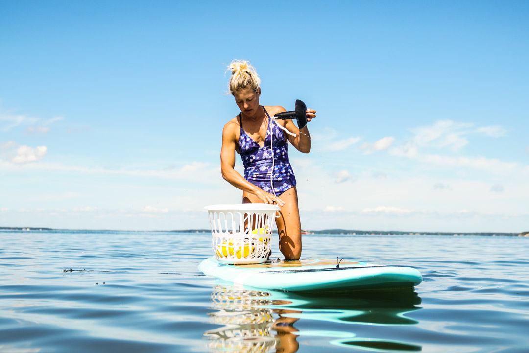 Jessica Bellofatto sup yoga anchor system