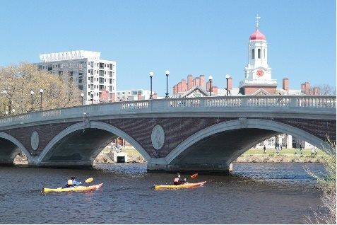 Run of the Charles Boston skyline