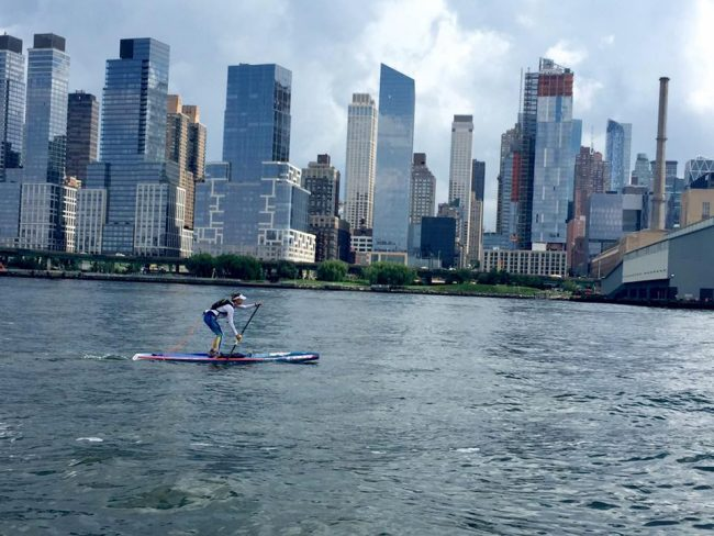 Stephanie Shideler SEA Paddle NYC1