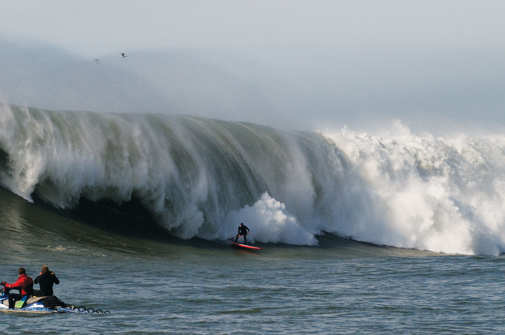 heaviest sup wave ever