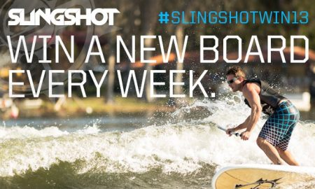Slingshot Sup To Give Away Six Boards in Six Weeks!