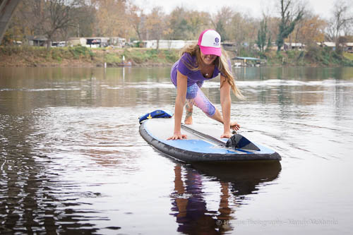 Testing the Water: SUP Core Exercise Sequence
