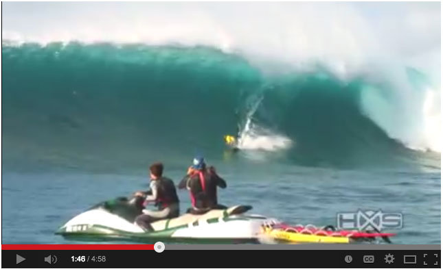 big wave stand up paddle boarding