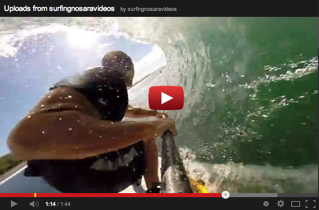 GoPro View of Starboard 7.4 Airborne Barrels