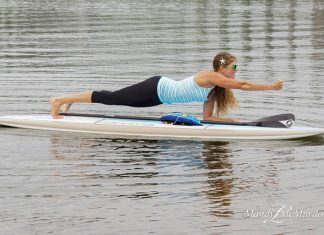 Paddle board Plank Punches 3