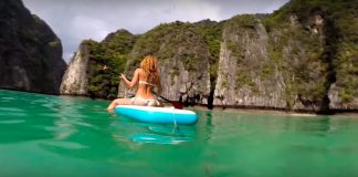 Beautiful Sup Journey to Phi-Phi-Le island Thailand