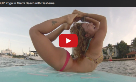 SUP Yoga in Miami Beach with Dashama
