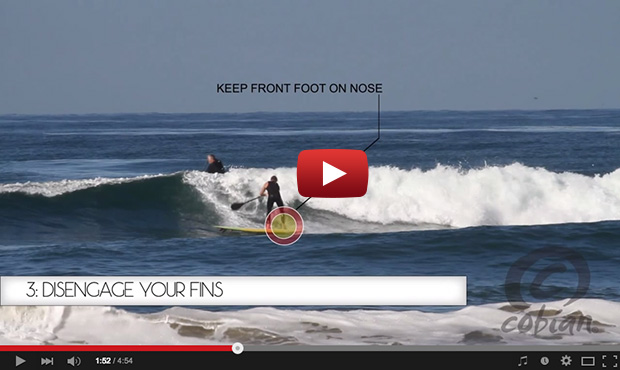 How To Do a Backside Helicopter on a Standup Paddleboard by Chuck Glynn