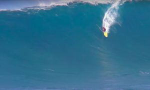 Kai Lenny and MO Freitas Sup Absolutely HUGE Peahi Monsters