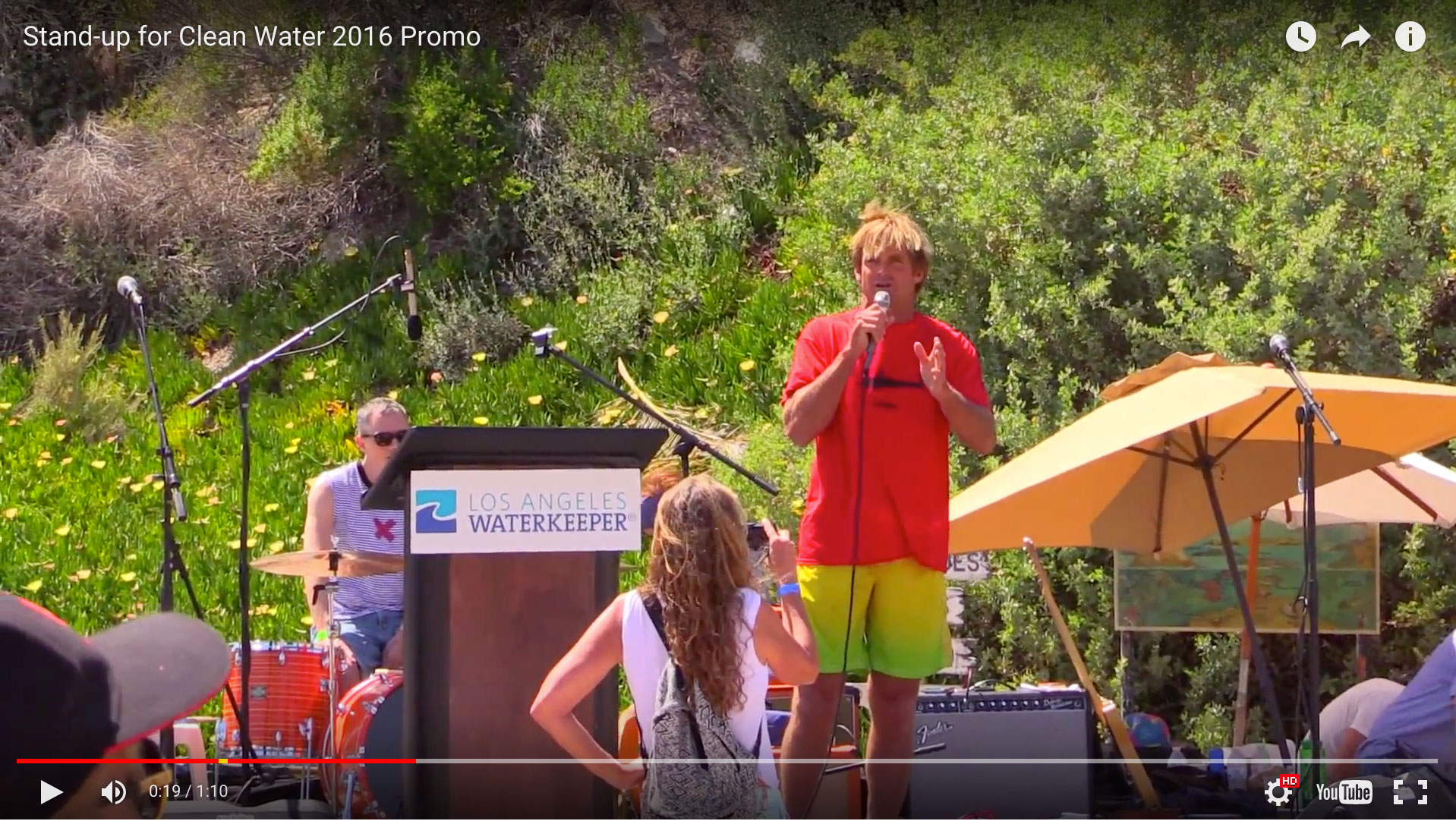 5th Annual Stand Up for Clean Water Event by LA Waterkeeper