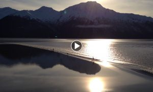 Absolutely Stunning Alaskan Tidal Bore Multi Sup Dream Ride