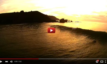 Killer Drone Vid Of Northern Cal Mysto Sup Surfer Jim Kibblewhite