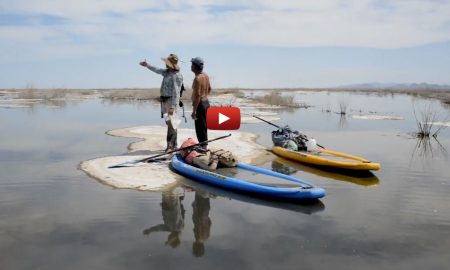The Most Absurd, Beautiful and Symbolic Paddleboard Adventure Ever