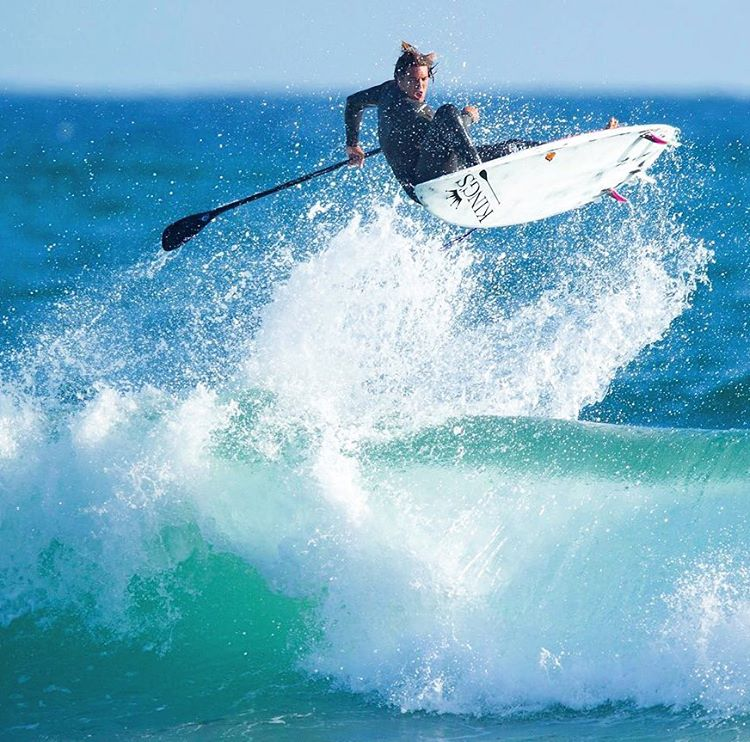 "Daniel Hughes reminds us ""There is nothing like a good boost!"" sup photo"