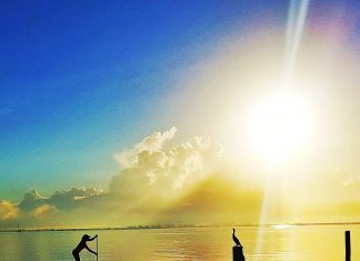Lizi Ruiz Gorgeous Florida Spring Sunrise Sup Photo