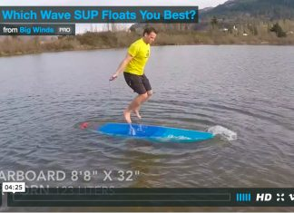 Sup Jump Rope Stability Test by Big Winds
