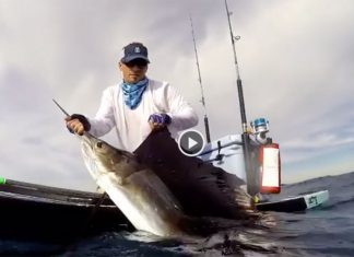Badass Catch and Release Bote Sup Fishing Session
