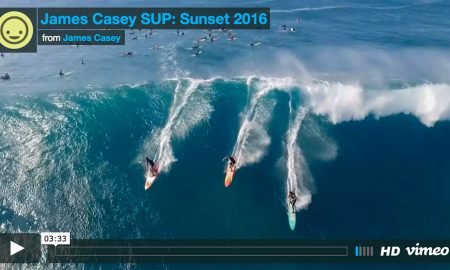 Sick North Shore 2016 El Niño Sup Compilation By James Casey