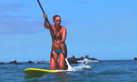 The kneeling sup technique