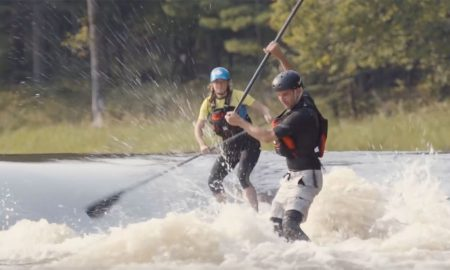 Nikki and Luke Take On The Whitewater Section of Ottawa River