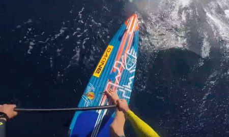 Connor Baxter's POV SUP Foil Downwinder On Maui