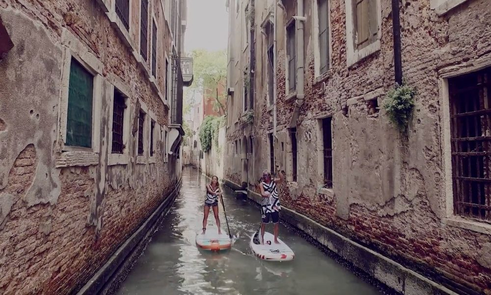 Sup N With Rrd In One Of The Most Beautiful Cities In The World Venice Standup Journal Magazine