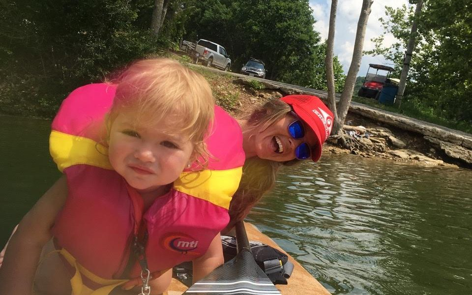 stand up paddling with your baby 7