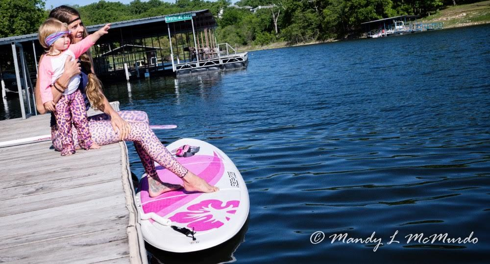 stand up paddling with your baby 8