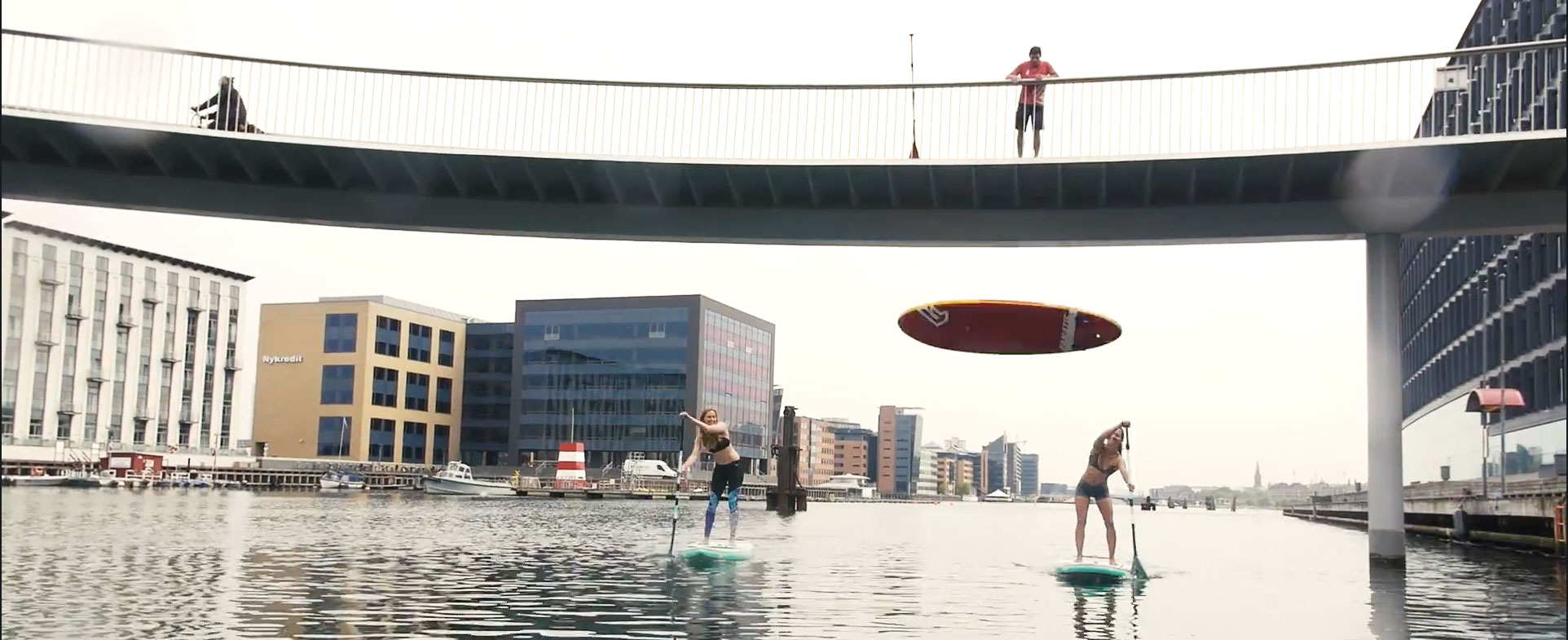 Stand Up Paddle Copenhagen | The Happiest City In The World