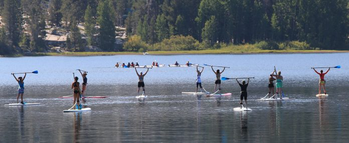 Girl's SUP Out | REI Outessa Women's Adventure Summit