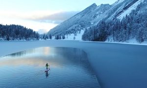Thomas Oschwald's 310 Mile Norwegian Winter Sup Expedition