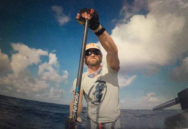 Chris Bertish thesupcrossing canaries ke nalu paddle