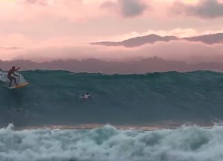Robby Naish is in Costa Rica to surf the longest shore breaking wave ever recorded.