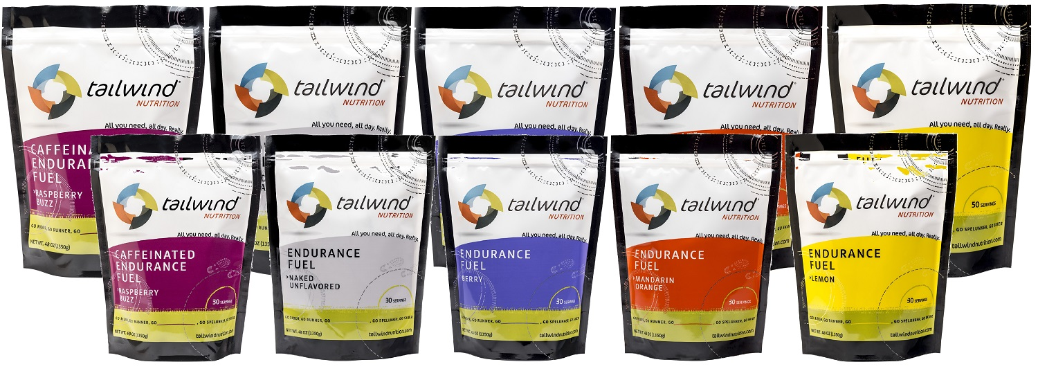 Tailwind Nutrition's New Green Tea Caffeinated Endurance Drink