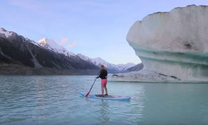 Video: Standup Paddling Around Icebergs Is As Epic As It Sounds