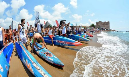 Watermans league app world tour series crowd starboard