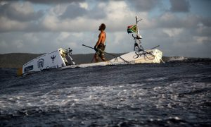 Chris Bertish Antigua The SUP Crossing