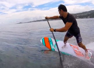 Introducing the F-One Sup Papenoo 2017